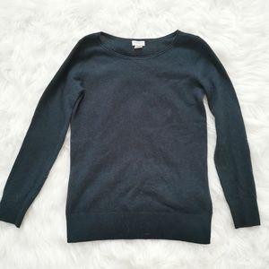 club Monaco cashmere sweater green small
